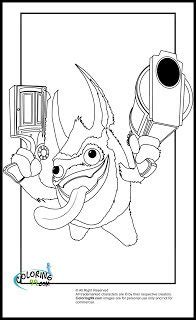 crayola coloring pages skylanders 1000 images about skylanders on pinterest the portal