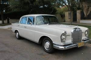 Mercedes 230s 1966 Mercedes 230s W111 Design Thinking Its About
