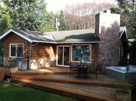 Waterfront Cabin Rentals by Whidbey Island Waterfront Cabin Best Vrbo