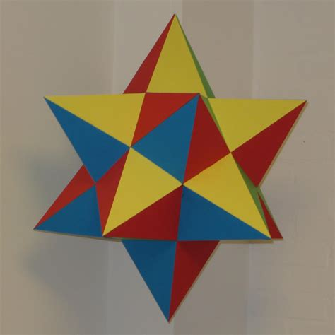 How To Make A Dodecahedron Out Of Paper - paper small stellated dodecahedron