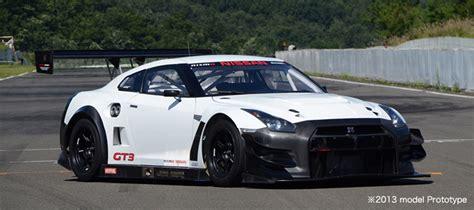 nissan race car nissan updates gt r nismo gt3 race car for 2013