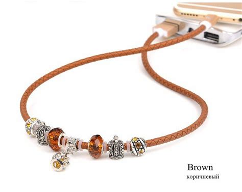 Original Apple Lightning To Usb Cable Wire Sync Charge original hoco pandora leather bracelet data sync charger