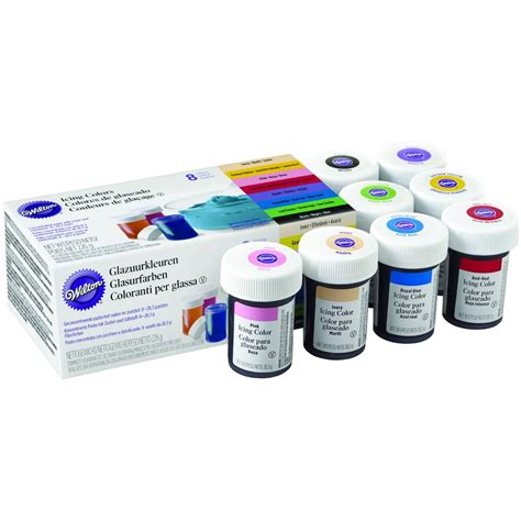 icing color wilton icing colour kit 8 pack hobbycraft