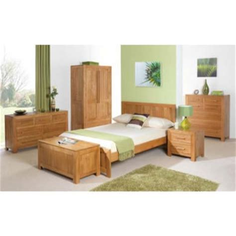 heritage furniture uk caley solid oak bedroom set single