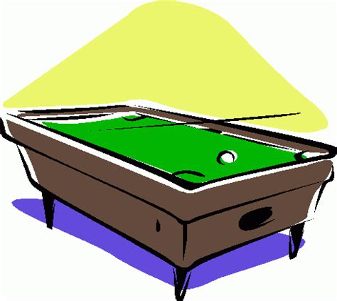 Free Pool Table by Pool Table Cliparts Co