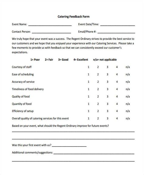 Business Feedback Form Template Business Form Templates Feedback Template