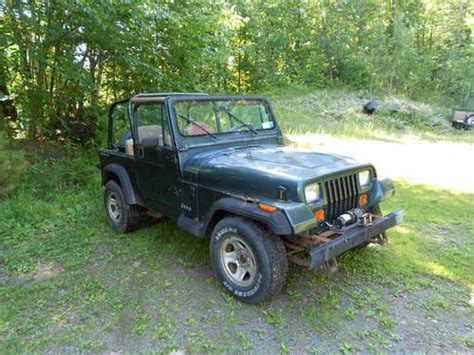 standard jeep wrangler find used 1993 jeep wrangler 4x4 6cyl standard in