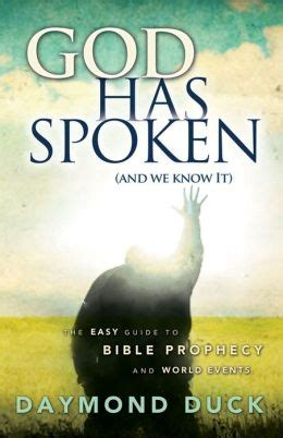 god has spoken books god has spoken by daymond duck 2940148806950 nook book