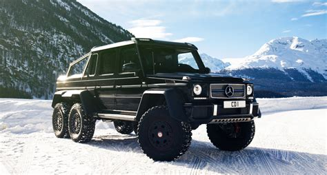Mercedes Suv 6x6 Mercedes G63 Amg 6x6 When Much Is Not Enough