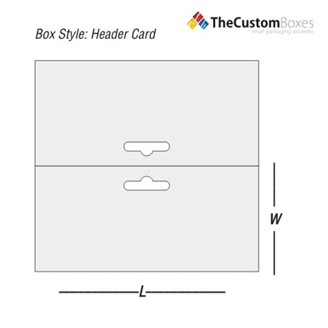 header card design template header card custom header card packaging solution