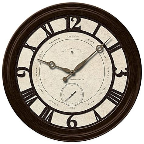 bed bath beyond clocks buy firstime 174 big gig wall clock from bed bath beyond
