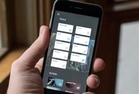 cara edit foto iphone cara pakai fitur text filter dan resize foto snapseed