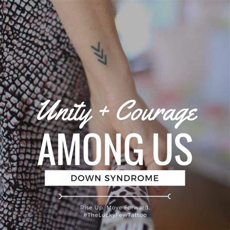 parents of kids with down syndrome are getting this tattoo