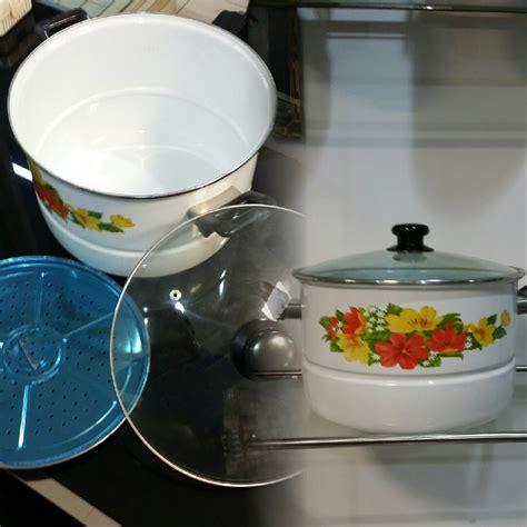 Panci Healthy jual ideal panci stockpot steamer 30 cm ideal