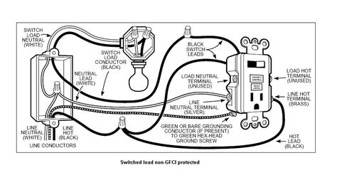 cooper gfci switch wiring diagram wiring diagrams wiring