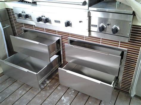 modular stainless steel outdoor kitchen stainless steel outdoor kitchen cabinets steelkitchen