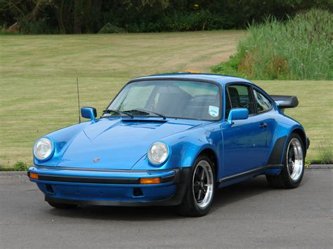 porsche 930 turbo blue current inventory tom hartley