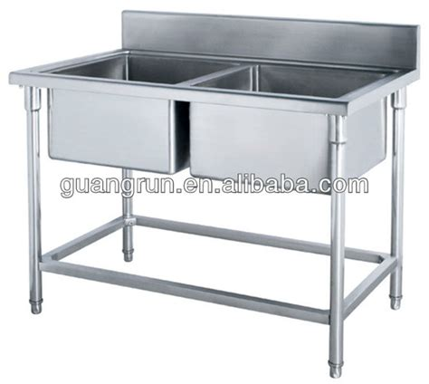 Commercial Stainless Steel Kitchen Sink by Restaurant Used Bowls Free Standing Commercial