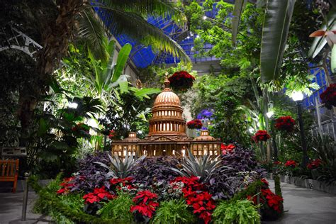 United States Botanical Gardens Quot Season S Greenings Quot From The United States Botanic Garden Garden Collage