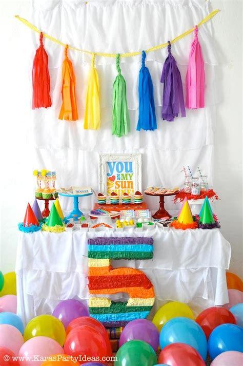 birthday decorations home cute dma homes 57071 rainbow birthday decoration ideas best home design 2018