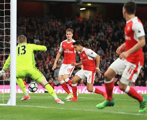 alexis sanchez won chions league epl man city on brink of chions league spot arsenal