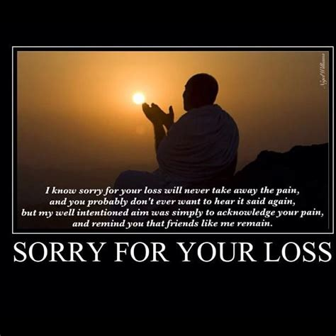 sorry for your loss sorry for your loss thoughts for thinkin