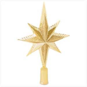 star of bethlehem tree topper sparkle season pinterest