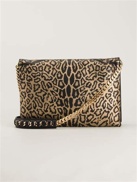 Roberto Cavalli Zebra Print Drawstring Bag Purses Designer Handbags And Reviews At The Purse Page by Roberto Cavalli Leopard Print Shoulder Bag In Multicolor