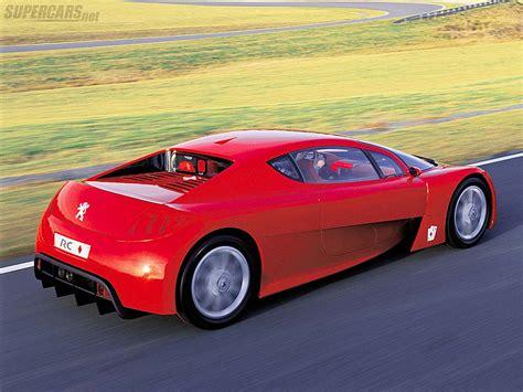 peugeot supercar 2002 peugeot rc concept supercars