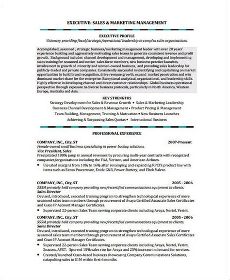 National Account Manager Resume Template by Insurance Sales Manager Resume National Account Manager