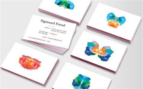 Business Card Templates For Psychologists by Psychologist S Business Card Qbn
