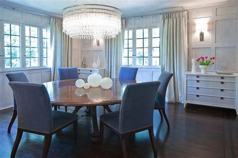 Transitional Style Dining Room by Larchmont Tudor Transitional Style House