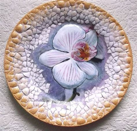 Decoupage On Plates - orchidea decorative decoupage plate 9 44 quot 24 cm