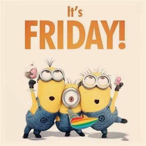 it s friday minions pictures photos and images for