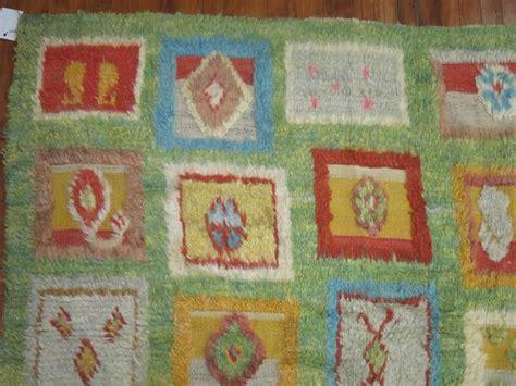 retro shag rug green vintage shag rug for sale at 1stdibs