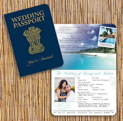 rohan cards templates indian passport invitation