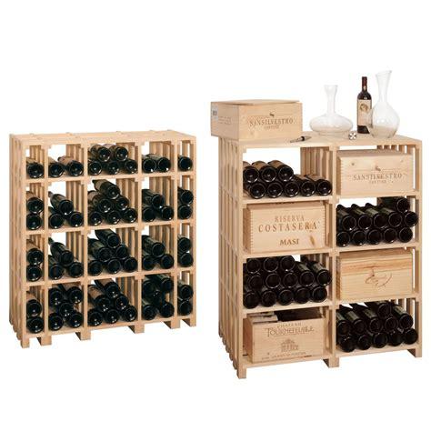 Weinregal Aus Weinkisten by Weinregal Caveaustar Aus Holz Optimal Zur Lagerung F 252 R