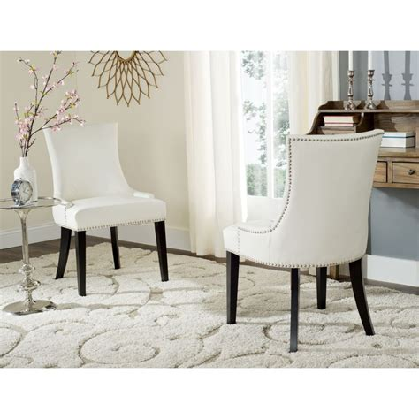 White Leather Dining Room Chairs by Best 25 Leather Dining Chairs Ideas On Dining Chairs Lighting For Dining Room And
