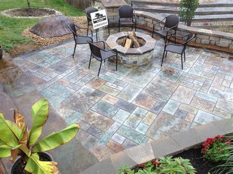 Patio Designs Cincinnati Ohio Walkers Concrete Llc Cincinnati Outdoor Fireplaces And