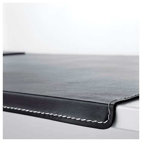 Small Desk Pad Rissla Desk Pad Black Ikea
