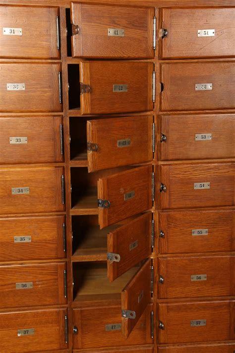 multi drawer storage unit vintage industrial wood storage unit or multi drawer