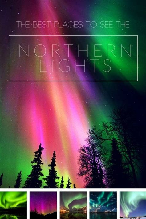 best countries to see the northern lights mapping megan