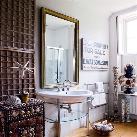 seaside bathroom ideas neutral seaside bathroom housetohome co uk