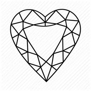 Gem Outline by Gem Jewellery Polished Shape Icon Icon Search Engine