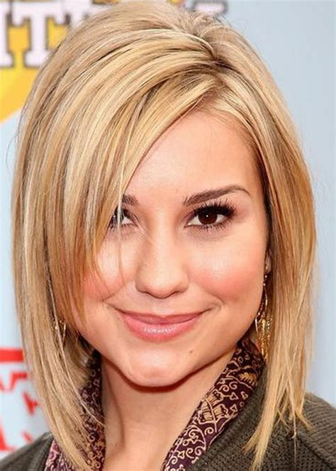 haircuts for thin hair round face 2015 25 beautiful medium length haircuts for round faces