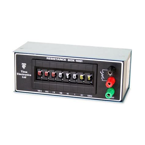 resistor box for calibration resistance decade box calibration 28 images east instruments 1051 8 decade resistance box