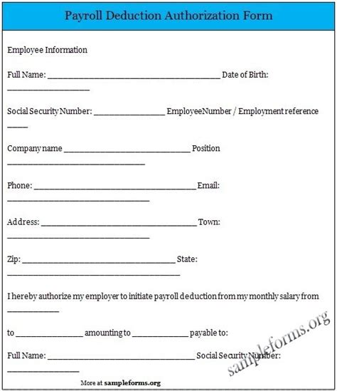 Loan Deduction Letter Format 10 best sle forms images on