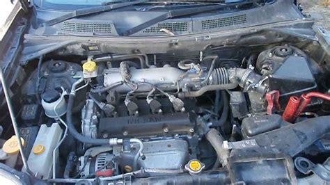 Compressor Nissan Xtrail nissan xtrail 2005 2 5 qr25 dohc now dismantling 02 9724 8099