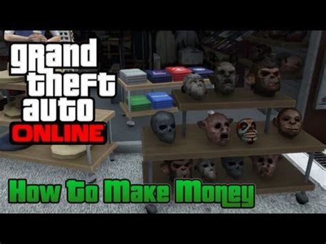 How To Make Money On Grand Theft Auto 5 Online - grand theft auto online gta 5 how to make money youtube