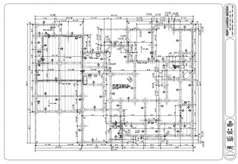 foundation plan drawing bert lamson design foundation plan